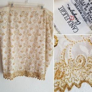Beaded skirt